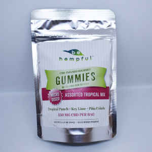 CBD Gummy 10mg Tropical